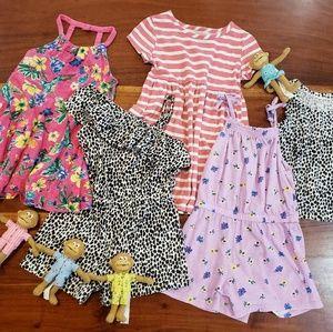 2T Old Navy Girls Bundle, bright and fun fabrics
